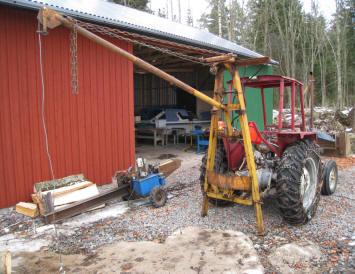 Vajerspel traktor